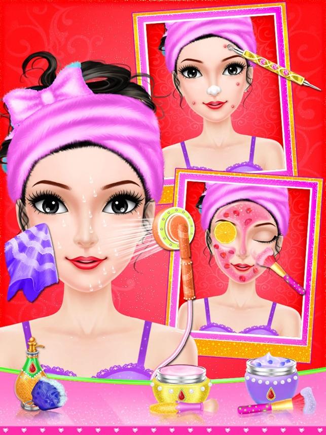 Wedding Salon Games : Girls Dressup & Makeup Games 4+