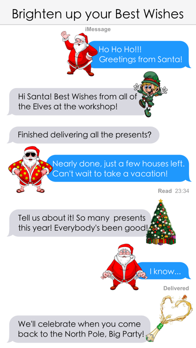 Xmas and New Year Stickers screenshot four