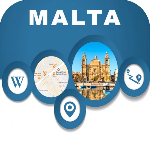 Malta Offline City Map Navigation