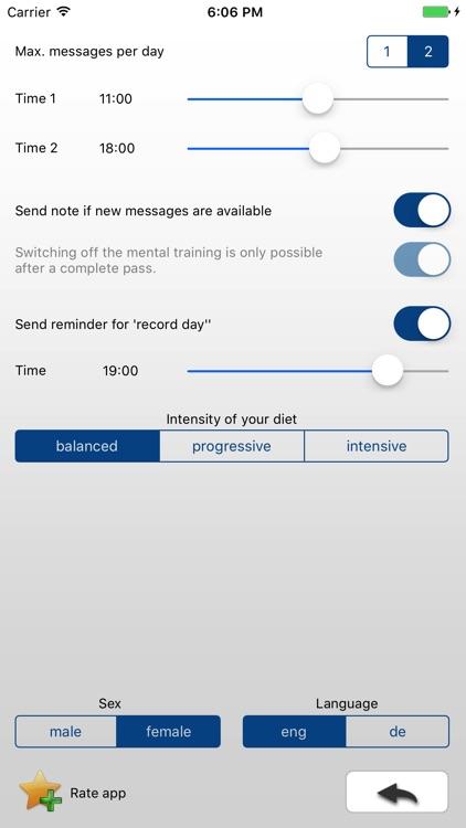 GET SLIM STAY SLIM, diet, weight loss screenshot-3