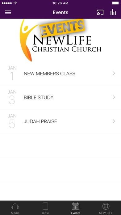 New Life Christian of Fontana screenshot 2