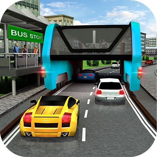 Super Elevated Bus : City Public Travelling Drive