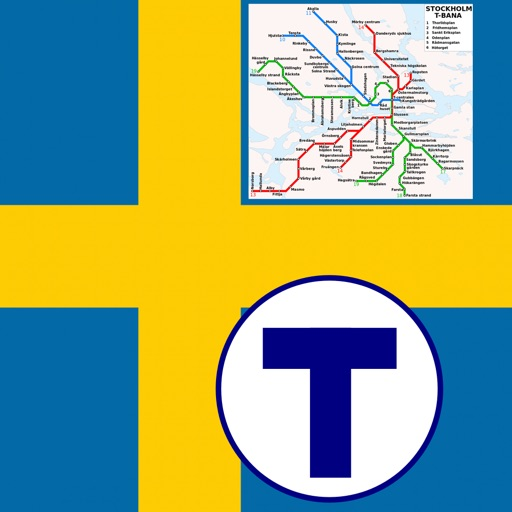 Stockholm Metro - map and route planner