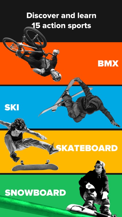 RIDERS – BMX, Skateboard, and Scooter tricks