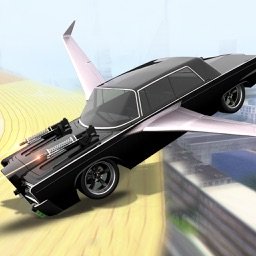Super Flying Car Racing Games