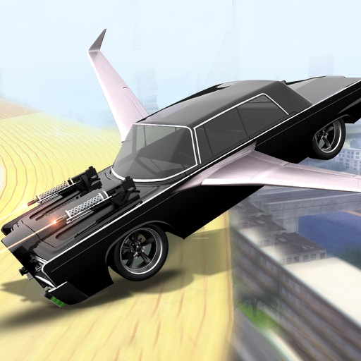 Super Flying Car Racing Games