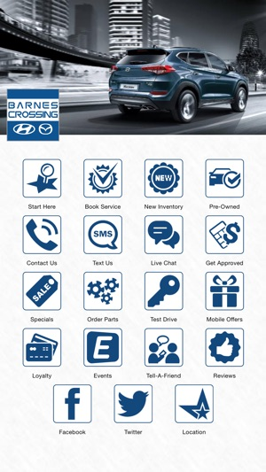 Barnes Crossing Hyundai Of Tupelo On The App Store