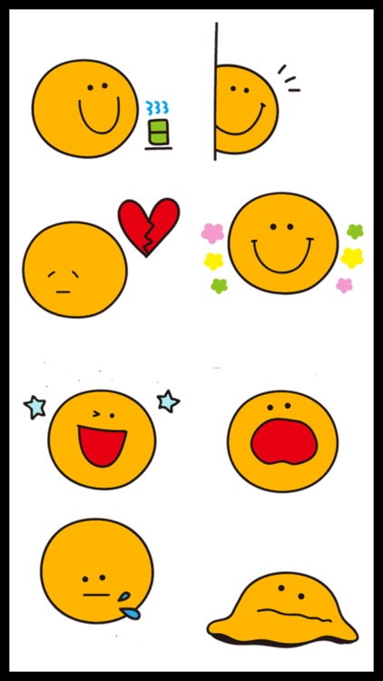 Cute Orange Emoji Stickers screenshot-4