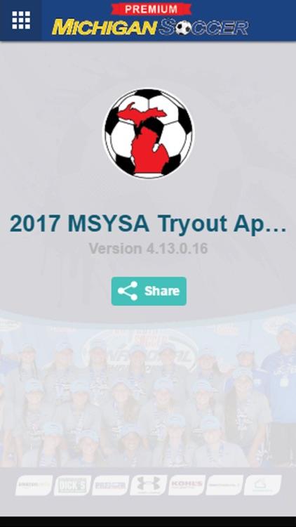 2017 MSYSA Tryout App Premium