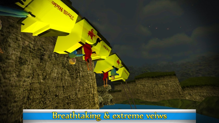 Roller Coaster Ride Simulator & Amusement Park 3d screenshot-3