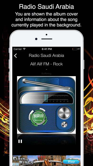 Radio Saudi Arabia - Live Radio Listening screenshot two