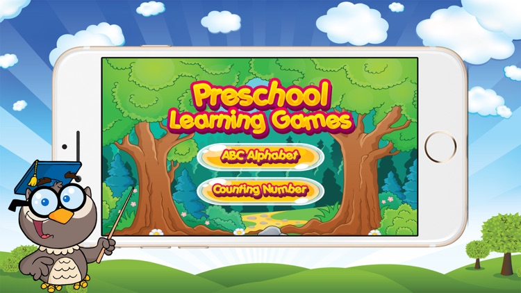 Preschool Learning Games - Alphabet & Counting