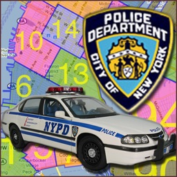 NYPD Precinct Map for iPad
