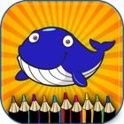 Juegos de colorear animales marinos para niños icon