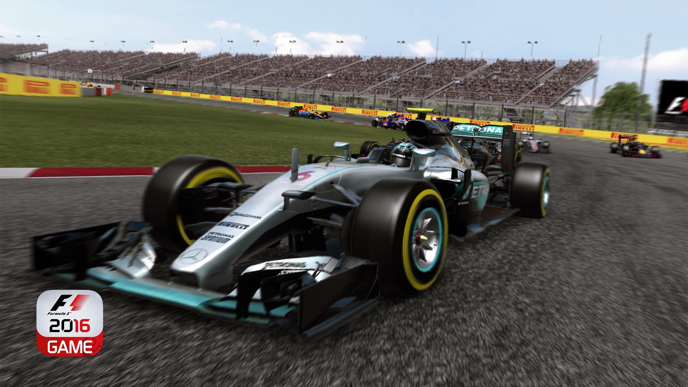 Screenshot do app F1 2016