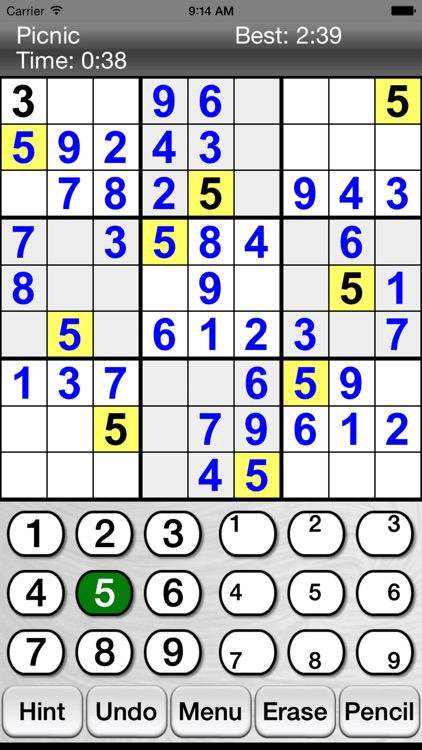 :) Sudoku screenshot-0