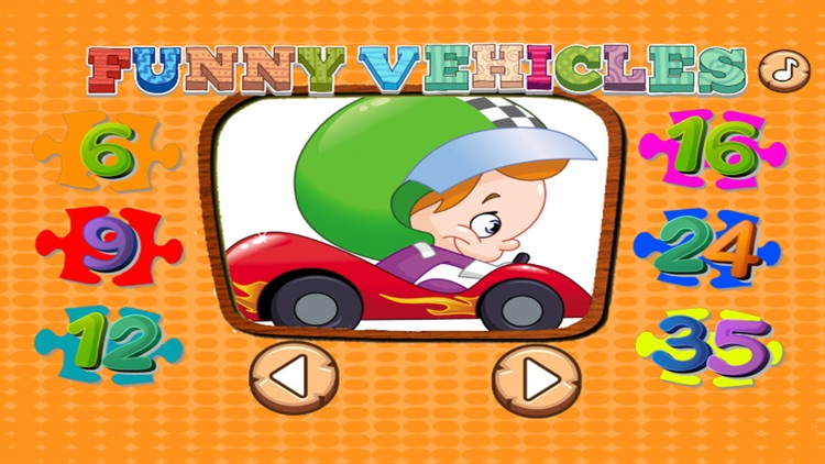 Kids Vehicle Games: Toddlers Learning Puzzle Free