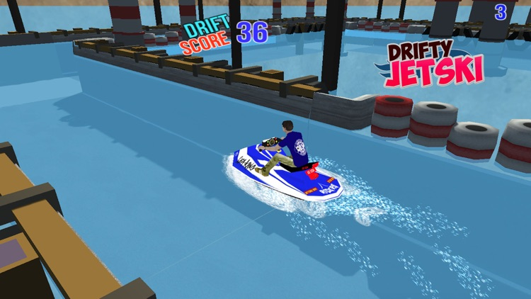 Drifty JetSki - Jetski Drift Stunt Racing Games screenshot-3
