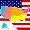 JapanCase.com - USA States Map Puzzle artwork