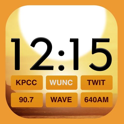 Beautiful Clock Radio for iPhone