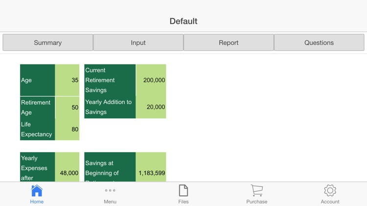 Retirement Planner screenshot-3