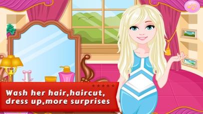 Dressup Games:Denim Hairstyles screenshot two