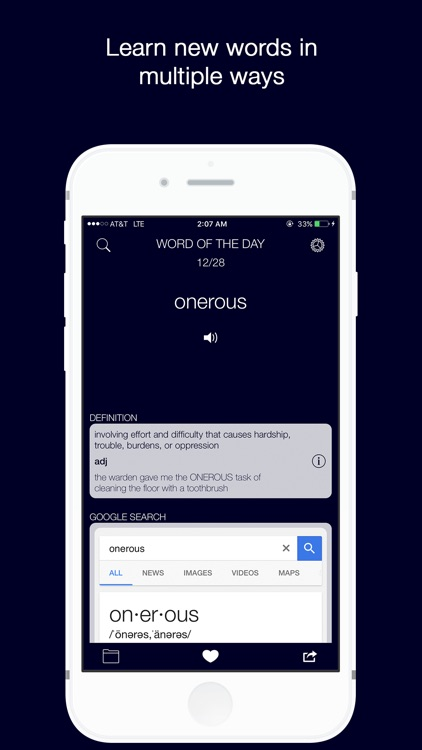 Word of the Day with Vernie + Dictionary screenshot-0