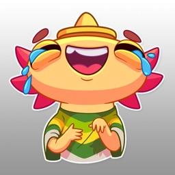 MexMoji - Mexican Axolotl Emoji & Stickers