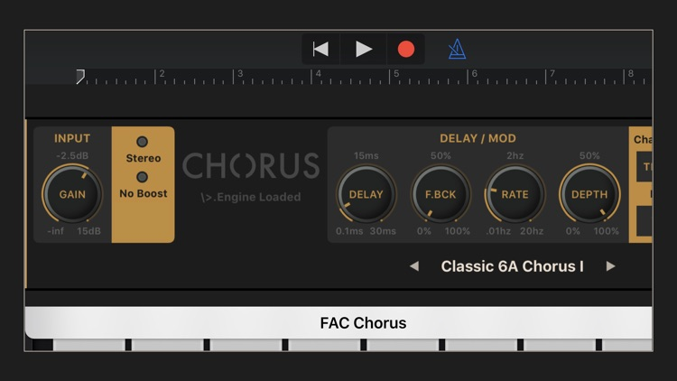FAC Chorus screenshot-4