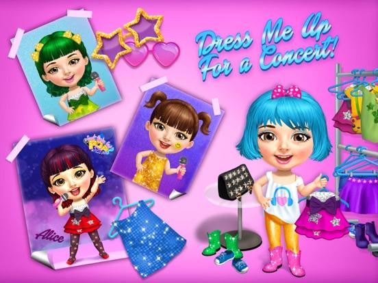 Sweet Baby Girl Pop Stars - No Ads screenshot 8