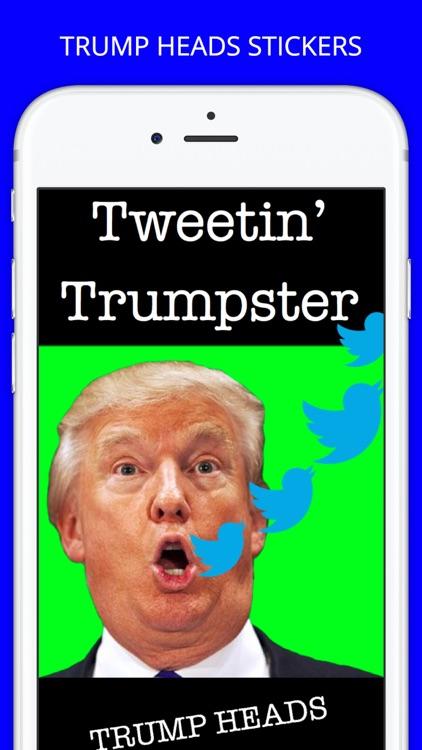 Trump Heads GIF Sticker App Pack for iMessage GIFS screenshot-4