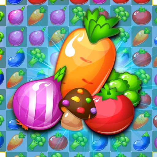 Fruit Farm Star - Very Addictive Match 3 Game Free