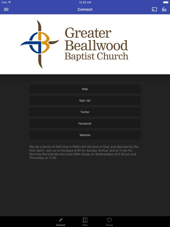 Greater Beallwood Baptist screenshot 3