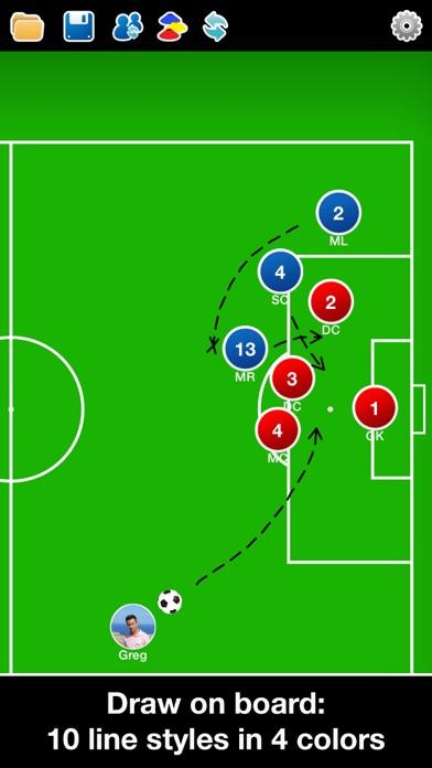 Screenshot for Coach Tactic Board: Football++ in Ireland App Store