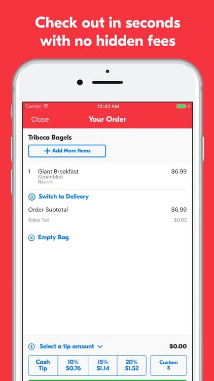 Grubhub Food Delivery & Takeout screenshot-3