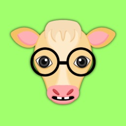 Blonde Cow Emoji Stickers for iMessage