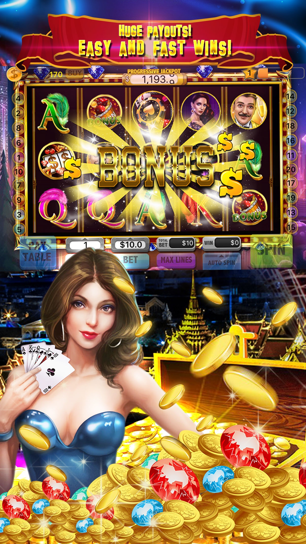 Huge Casino Slots