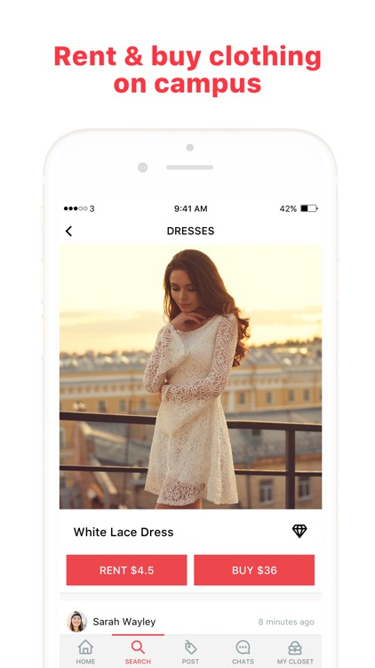 Closet Hop — rent & buy clothing at your school