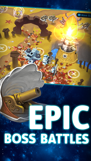 ‎OTTTD: Over The Top Tower Defense Screenshot