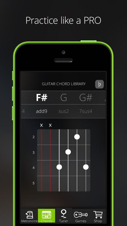 GuitarTuna – Tuner for Guitar, Bass and Ukulele screenshot-4
