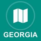 Georgia, USA : Offline-GPS-Navigation icon