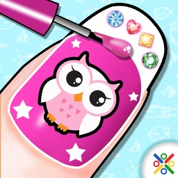 Manicure Nail Salon - A Girl Makeover Game