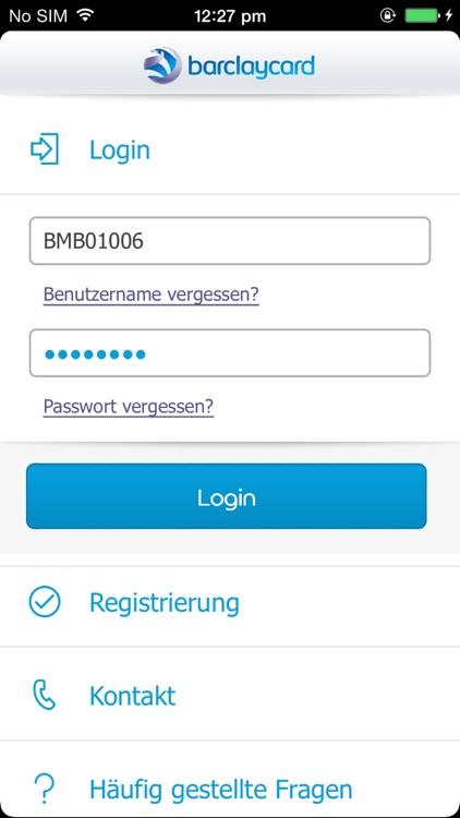 Barclaycard App