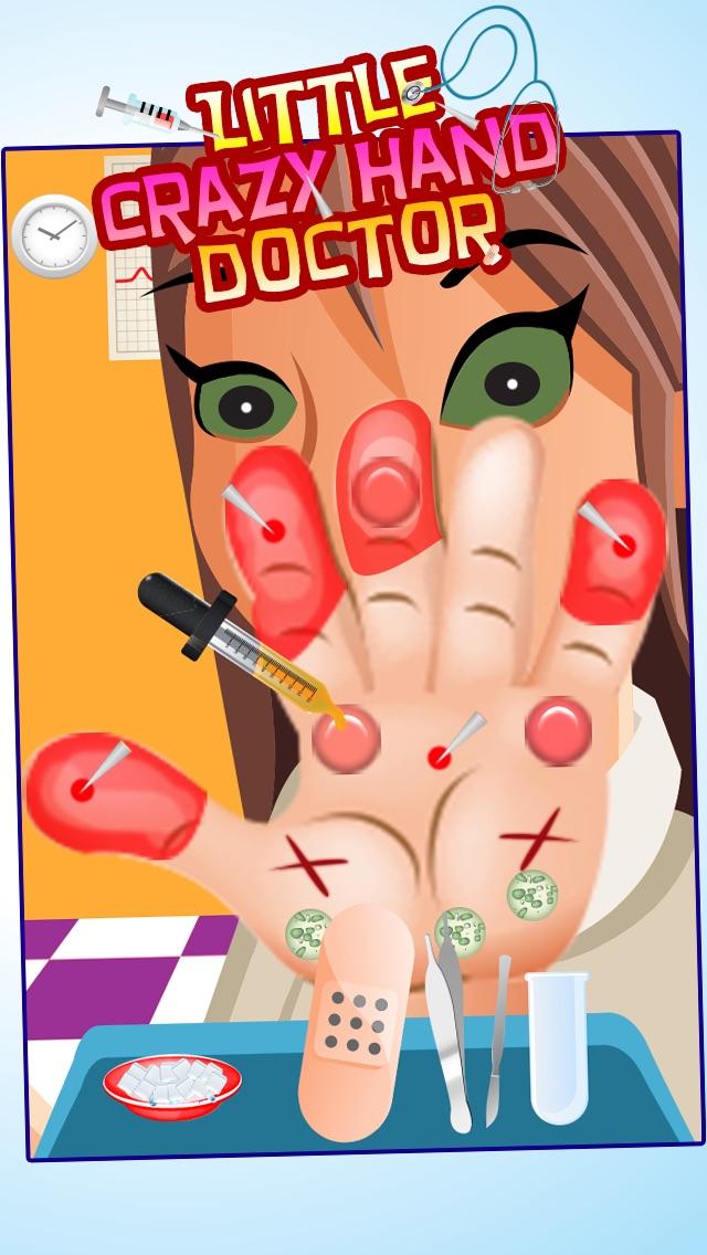 Wenig Crazy Hand Arzt ( Dr) - Kinder SpieleScreenshot von 2