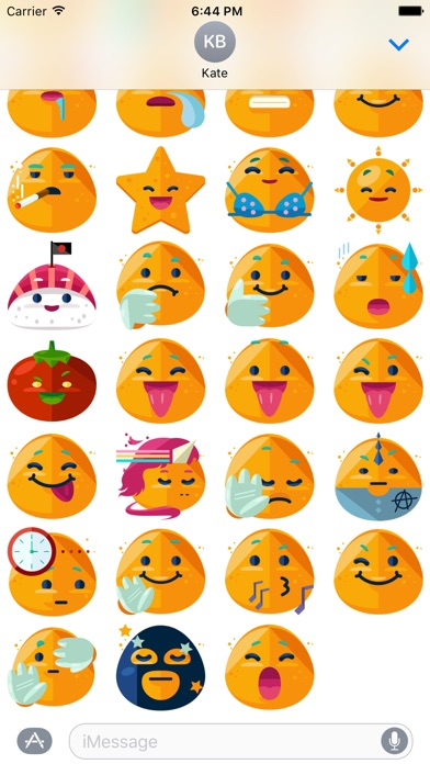 Funny Emoticons Stickers - iMessage New Emoji