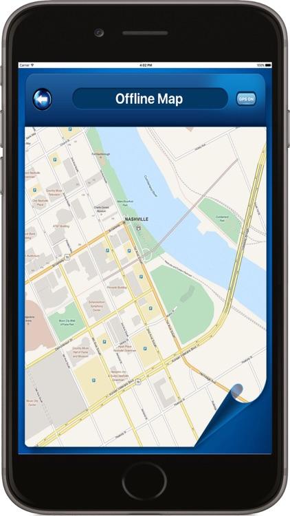 Nashville Tennessee USA - Offline Maps navigator