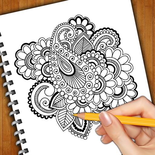 Learn How To Draw Henna Tattoos By Bhaumik Harshadray Mehta
