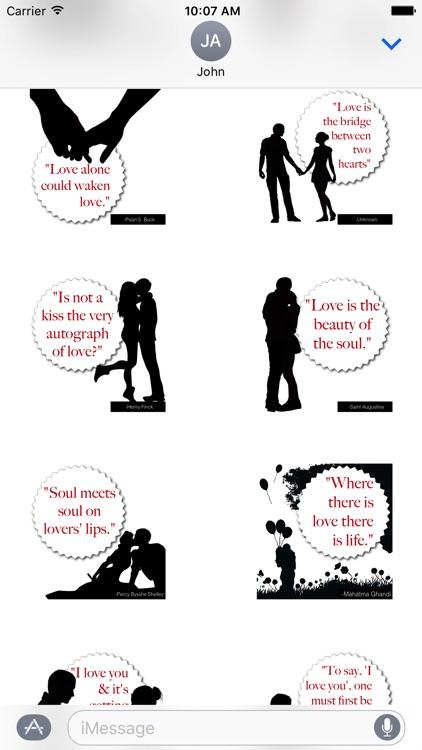 ShadowNotes: Love Quotes screenshot-3