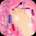 Spa de la princesa del pie para las niñas - Pedicu icon