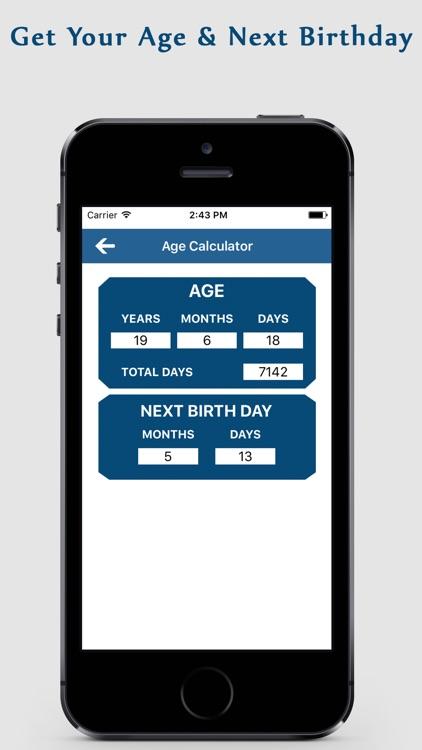 Age Calculator app screenshot-3